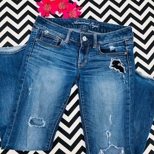 American Eagle Straight Jeans Sz6